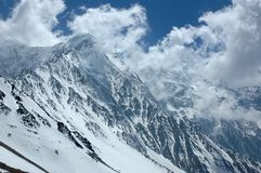 Escala Himalayan majestosa Fotos de Stock Royalty Free