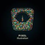 Escala - ilustração do pixel Fotografia de Stock Royalty Free