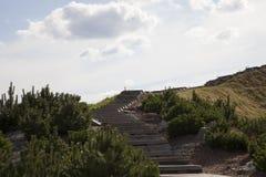 Escala a la colina Fotos de archivo libres de regalías