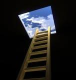 Escala a los cielos Fotos de archivo libres de regalías