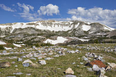 Escala nevado, Wyoming imagens de stock royalty free