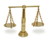 Escala velha dourada Imagem de Stock Royalty Free