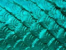 Escala verde aguda de la estatua grande del ` s de la serpiente Foto de archivo libre de regalías