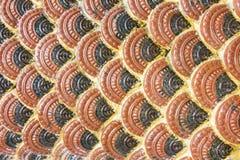 Escala vermelha do cimento imagens de stock