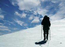 A escalada Foto de Stock Royalty Free