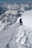 Escalada alpina Imagem de Stock Royalty Free