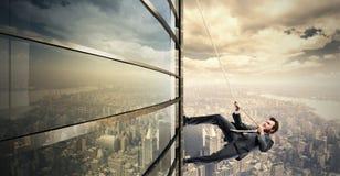Escalada ao sucesso Fotografia de Stock Royalty Free
