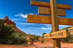 Escalada da rocha de Bell Foto de Stock Royalty Free