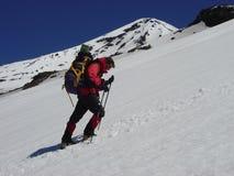 Escalada de montanha Foto de Stock