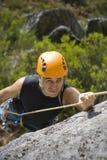 Escalada de montanha Fotografia de Stock Royalty Free