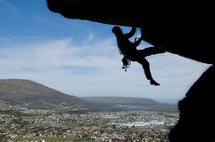 Escalada de rocha 001 Foto de Stock