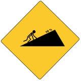 Escalada na estrada Imagens de Stock