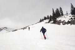 Escalada na montanha Imagens de Stock