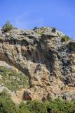 Escalada na serra de Guara Fotografia de Stock