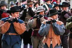 Free Escalade Celebration In Geneva Stock Images - 200183524