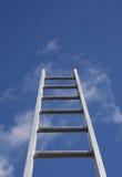 Escalando a escada da propriedade Imagens de Stock Royalty Free