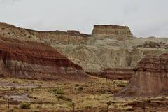 Escalante διάσημος σχηματισμός πετρών μνημείων στοκ φωτογραφία