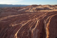 Escalante κυματισμοί βράχου στοκ φωτογραφία με δικαίωμα ελεύθερης χρήσης