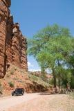 Escalante Canyon. Rural semiarid ranch canyon in western Colorado Royalty Free Stock Images
