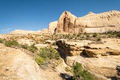 Escalante petrificó el parque de estado en Utah, los E.E.U.U. fotografía de archivo libre de regalías