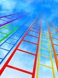 Escalas al cielo Foto de archivo libre de regalías