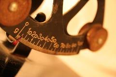 Escalas antiguas del balance Imágenes de archivo libres de regalías
