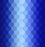 Escalas azuis do volume do teste padrão Fotografia de Stock Royalty Free