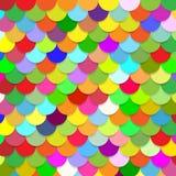 Escalas coloridas abstratas do fundo Imagens de Stock Royalty Free