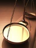 Escalas de justiça Imagens de Stock Royalty Free