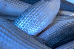 Escalas de peixes Fotos de Stock Royalty Free