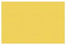 Escalas de pescados amarillas Foto de archivo