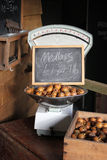 Escalas de peso da loja da exploração agrícola do vintage Imagem de Stock Royalty Free