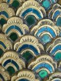 Escalas del dragón en medido Foto de archivo libre de regalías