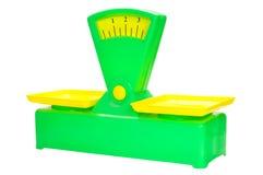 Escalas do brinquedo Imagem de Stock Royalty Free