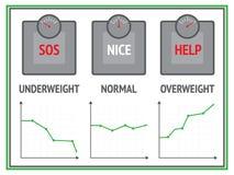 Escalas e gráficos Fotos de Stock