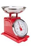 Escalas para o alimento Clássico do equilíbrio Foto de Stock Royalty Free