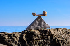 Escalas - piedras Imagen de archivo libre de regalías