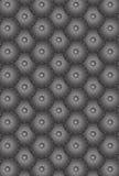 Escalas redondas do metal sem emenda do teste padrão ilustração do vetor
