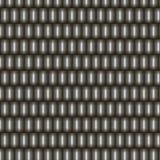 Escalas retangulares do metal sem emenda do teste padrão ilustração stock