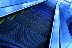 Escalator image stock