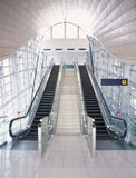 The escalator Royalty Free Stock Image
