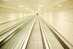 Escalator. Istanbul Maslak subway station escalator Royalty Free Stock Photos