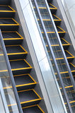 The escalator Royalty Free Stock Photography