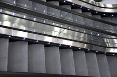 Escalator photographie stock libre de droits