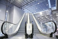 Free Escalator Royalty Free Stock Photo - 3658965