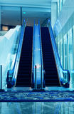 Escalator. In modern office building Stock Images