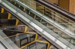 Escalator Abstract Royalty Free Stock Images