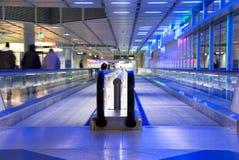 Escalator airport Royalty Free Stock Image