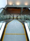 Escalator in airport Stock Images