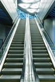 Escalator at the airport Royalty Free Stock Photo